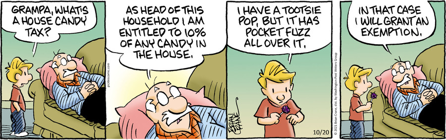Pickles by Brian Crane on Wed, 20 Oct 2021