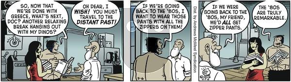 Alley Oop - Friday September 6, 2019 Comic Strip