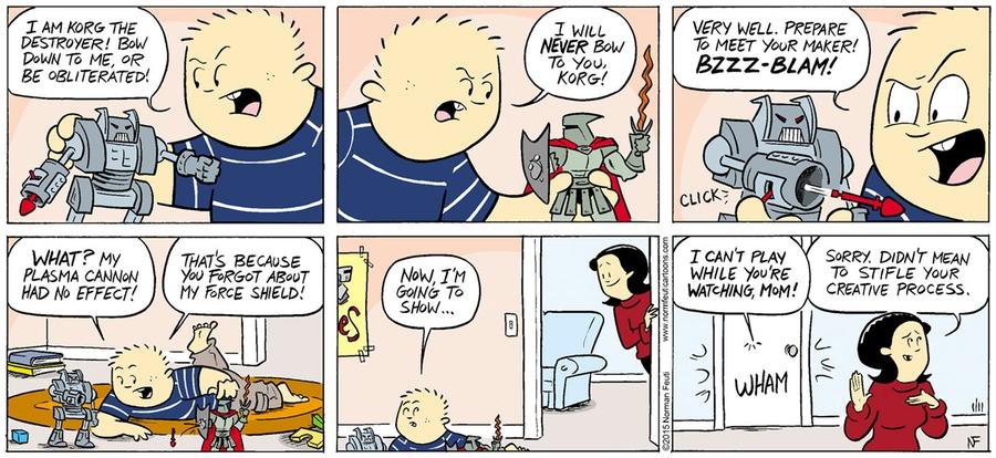 Gil Comic Strip for January 13, 2019