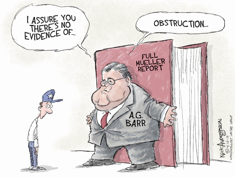 Nick Anderson by Nick Anderson for April 10, 2019