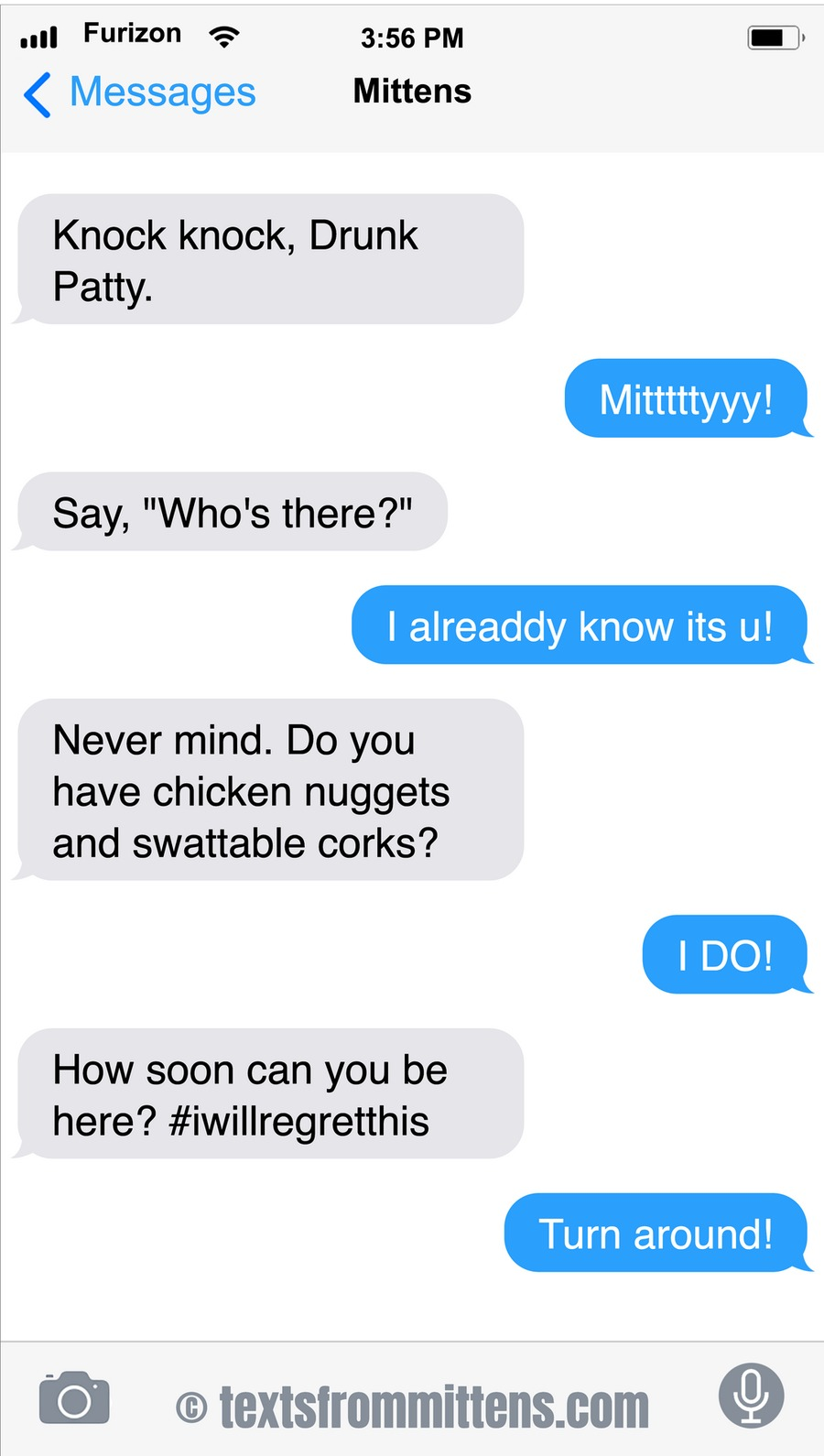 Texts From Mittens by Angie Bailey on Sun, 10 Oct 2021