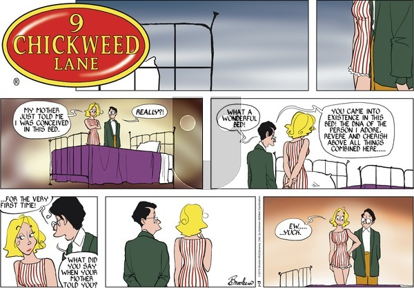 9 Chickweed Lane on Sunday January 13, 2019 Comic Strip