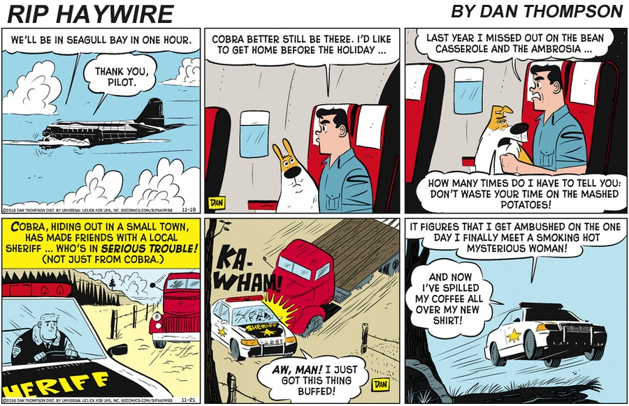 Rip Haywire Comic Strip for January 12, 2020