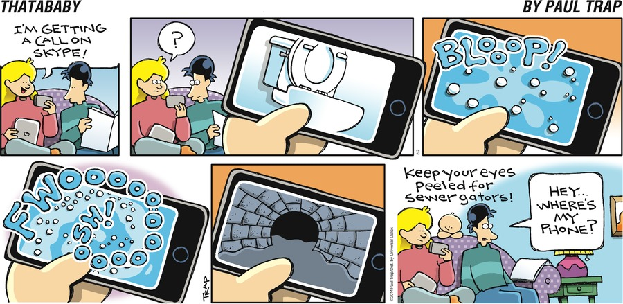 Thatababy Comic Strip for February 02, 2014