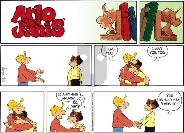Arlo and Janis on Sunday April 12, 2020 Comic Strip