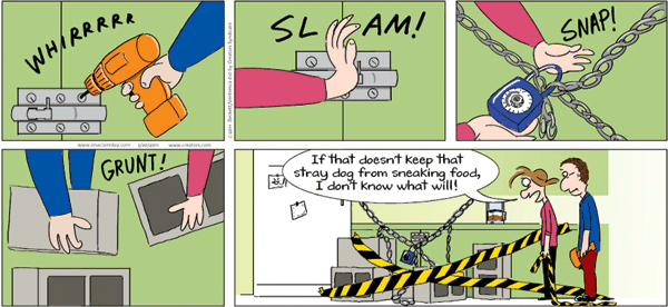On A Claire Day Comic Strip for March 18, 2019