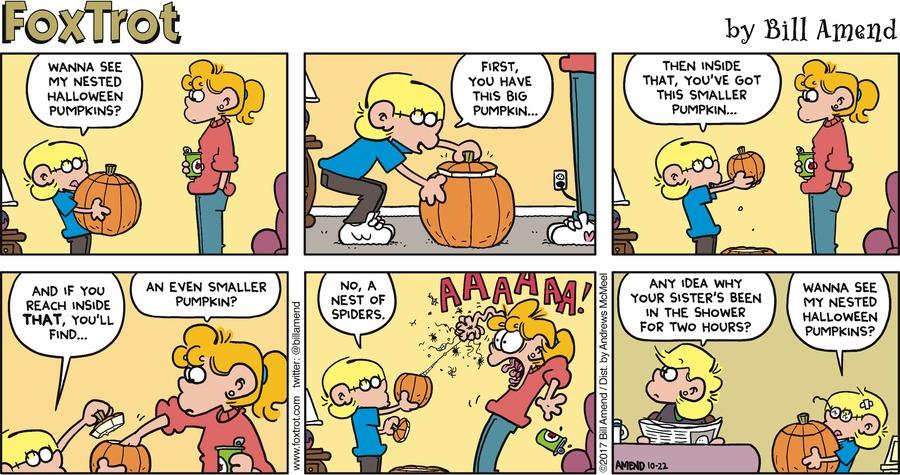 FoxTrot for Oct 22, 2017 Comic Strip