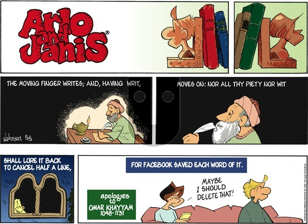 Arlo and Janis on Sunday May 5, 2019 Comic Strip