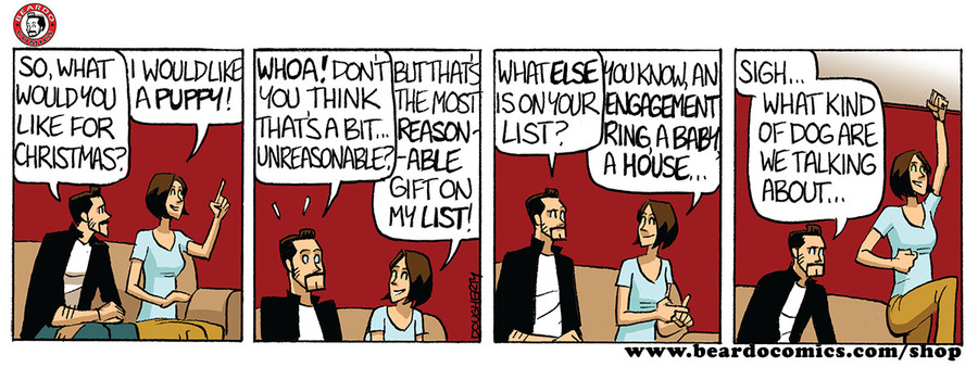 Beardo Comic Strip for June 11, 2019