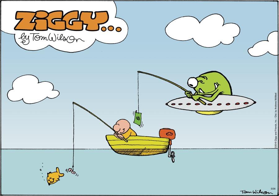Ziggy Comic Strip for May 26, 2019