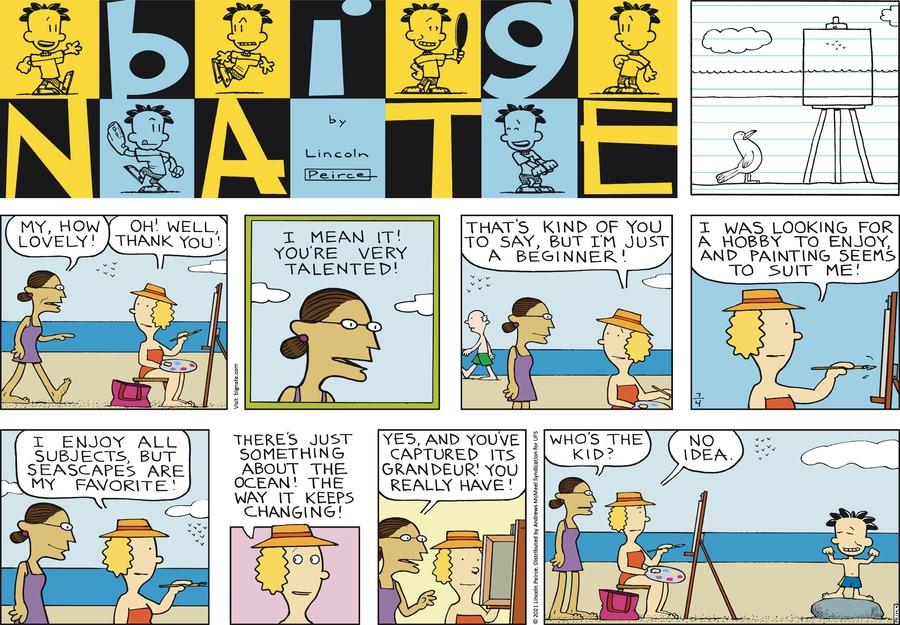 Big Nate Comic Strip for July 04, 2021