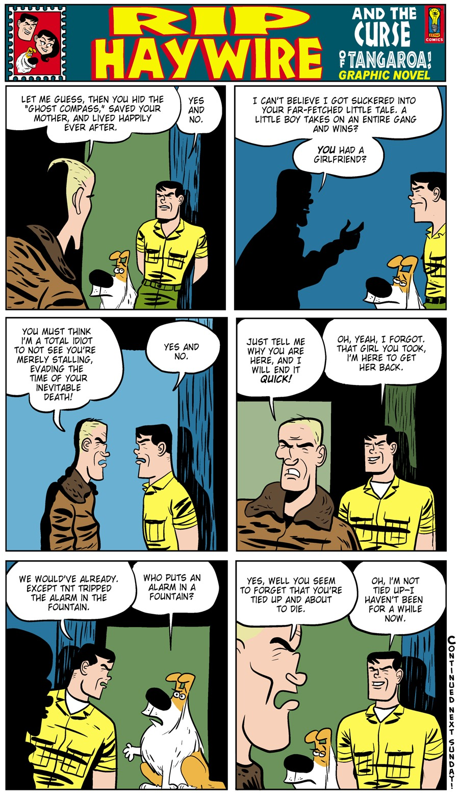 Rip Haywire Comic Strip for August 25, 2013