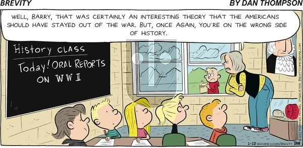 Brevity - Sunday January 12, 2020 Comic Strip
