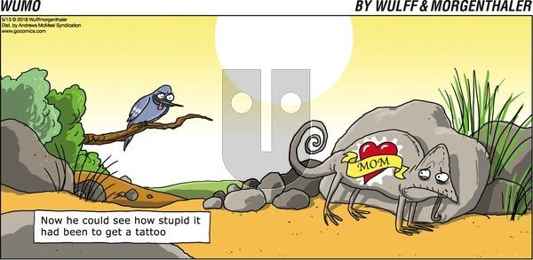 WuMo on Sunday May 13, 2018 Comic Strip