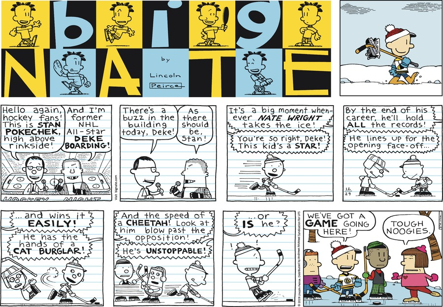 Big Nate by Lincoln Peirce on Sun, 29 Dec 2019