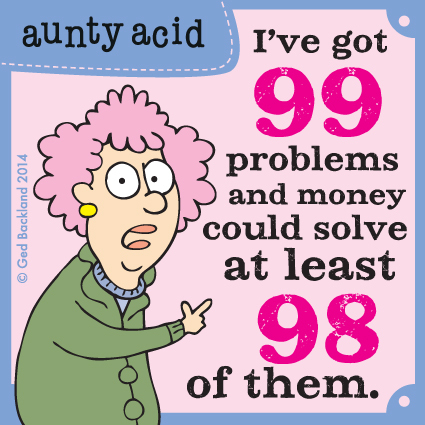 Aunty Acid for Jun 9, 2014 Comic Strip