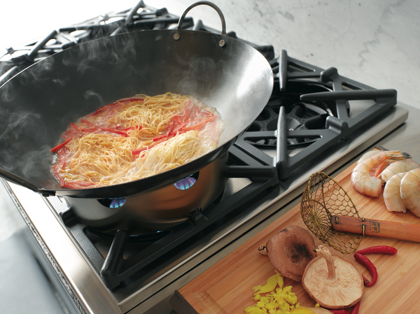 Customizable stovetops can support the way a home cook really cooks. A wok ring can lead to more global gastronomy in a home's kitchen.