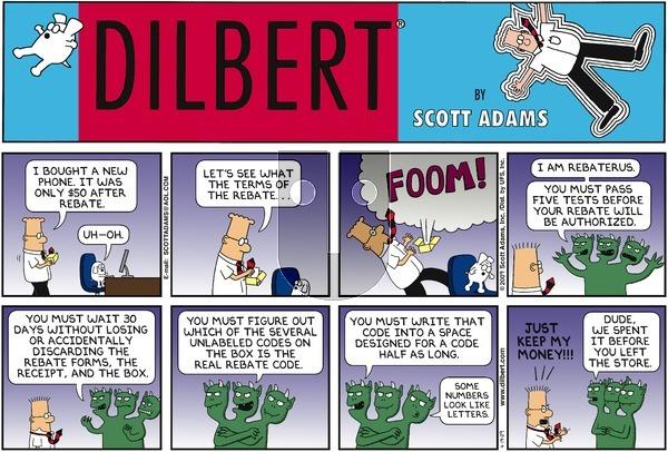 Dilbert - Sunday April 19, 2009 Comic Strip
