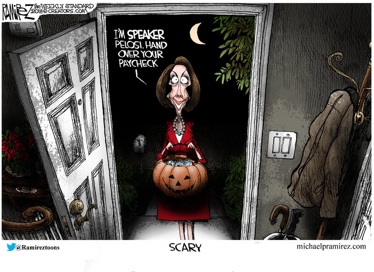 Michael Ramirez Comic Strip for October 29, 2018