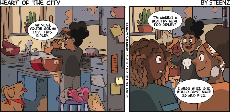Heart of the City Comic Strip for September 20, 2020