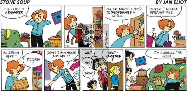 Stone Soup on Sunday October 23, 2005 Comic Strip