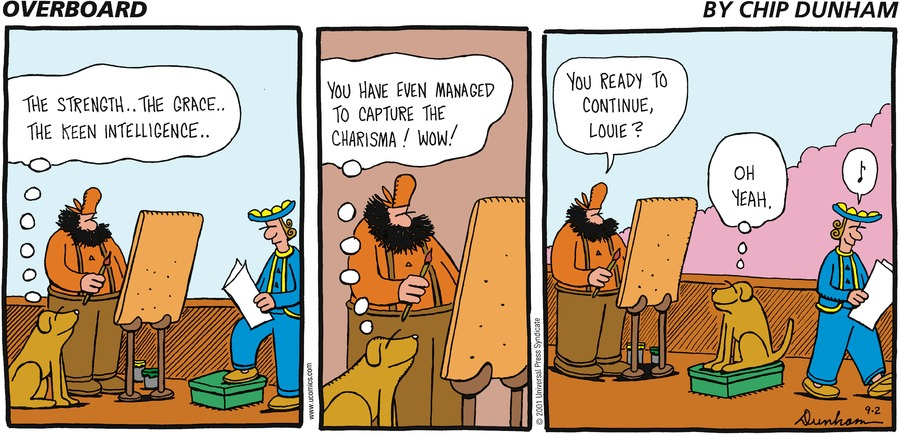 Overboard for Sep 2, 2001 Comic Strip