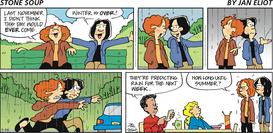 Stone Soup Comic Strip for March 24, 2019