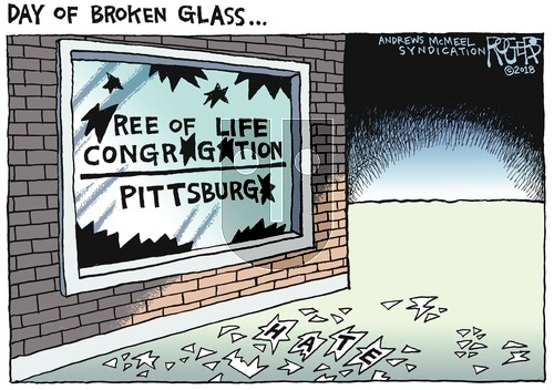 Rob Rogers on October 28, 2018 Comic Strip