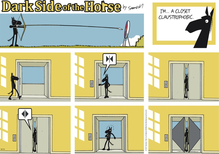 Dark Side of the Horse by Samson on Sun, 10 Oct 2021