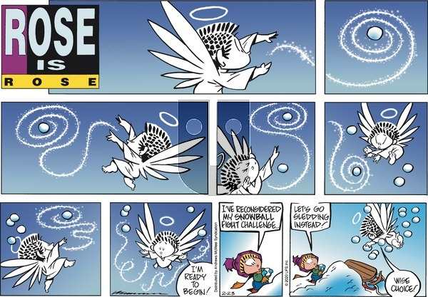 Rose is Rose on Sunday February 23, 2020 Comic Strip