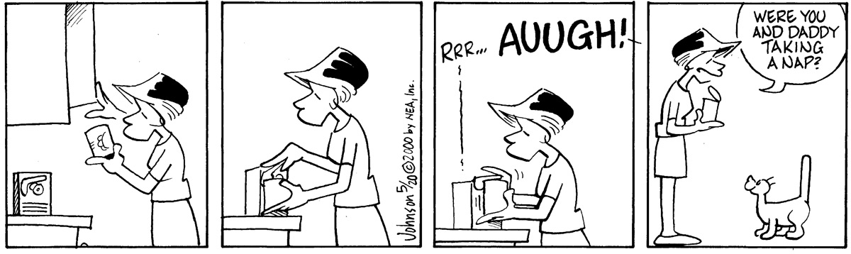 Arlo and Janis Comic Strip for May 20, 2000