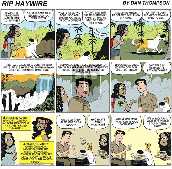 Rip Haywire on Sunday April 11, 2021 Comic Strip
