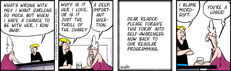 Rudy Park Comic Strip for May 13, 2021