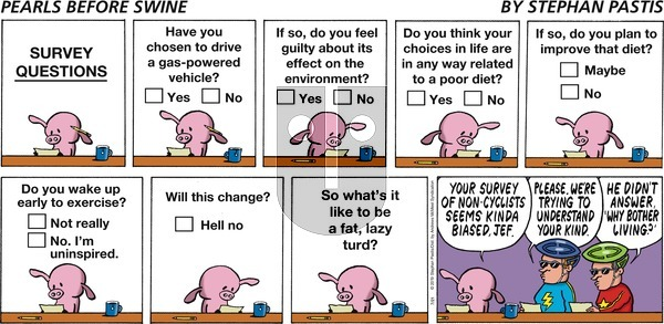 Pearls Before Swine on Sunday July 21, 2019 Comic Strip