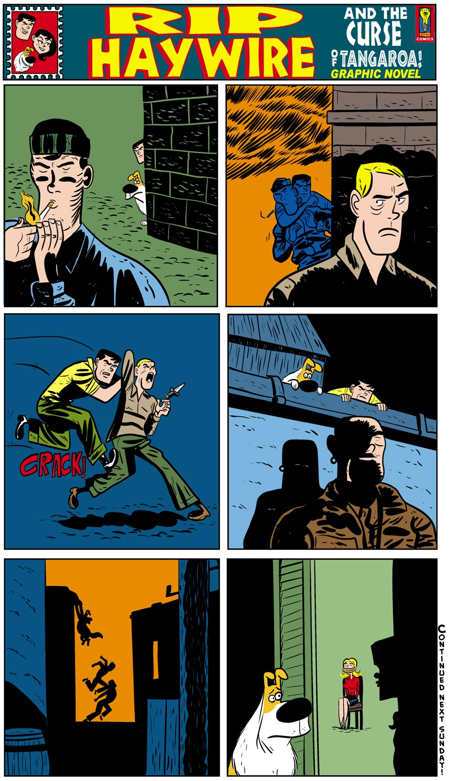 Rip Haywire Comic Strip for September 08, 2013