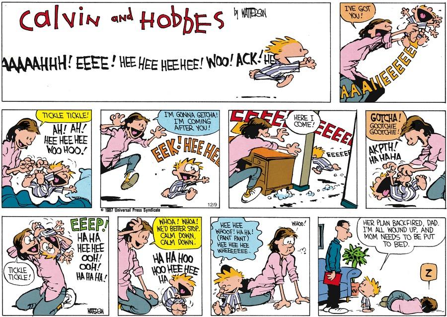 Calvin and Hobbes for Jan 26, 1992 Comic Strip