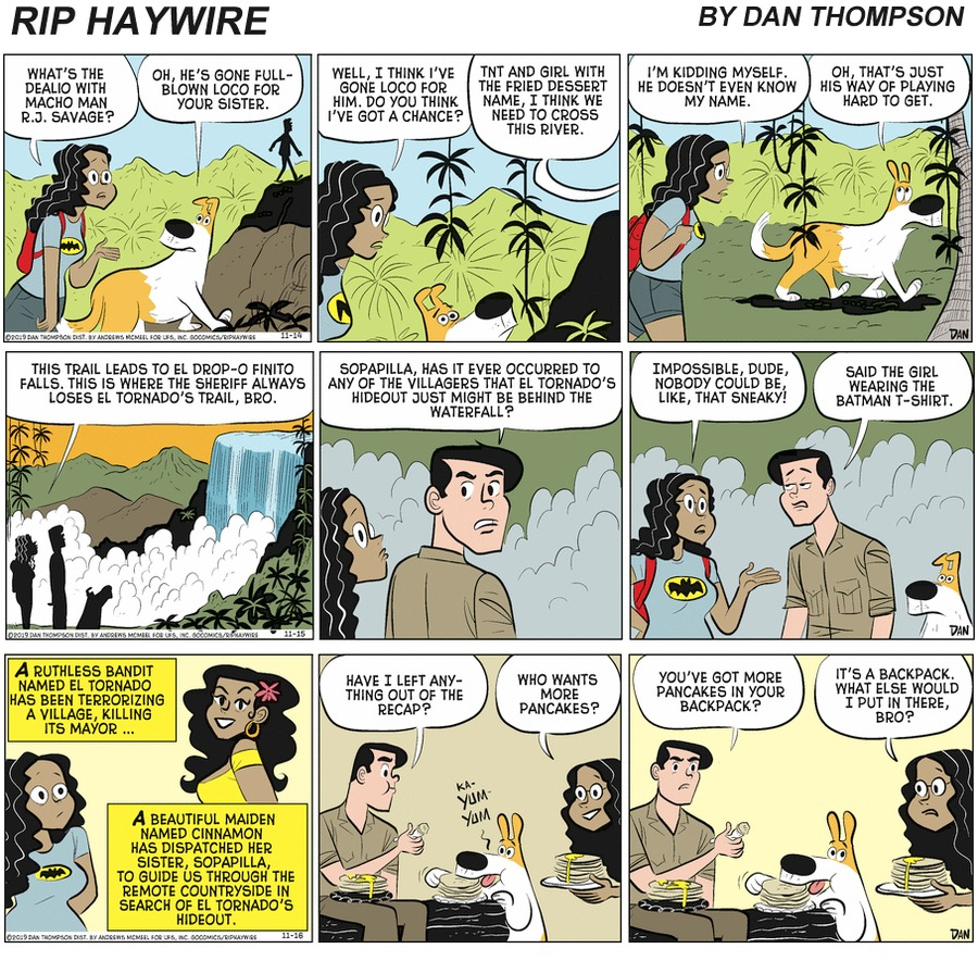 Rip Haywire Comic Strip for April 11, 2021