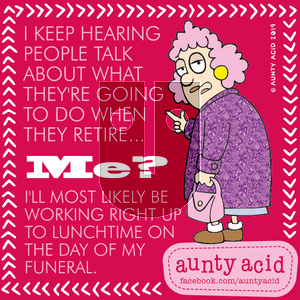 Aunty Acid on Friday September 27, 2019 Comic Strip