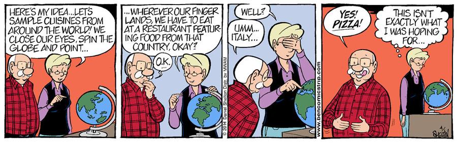 Ben for Apr 8, 2014 Comic Strip