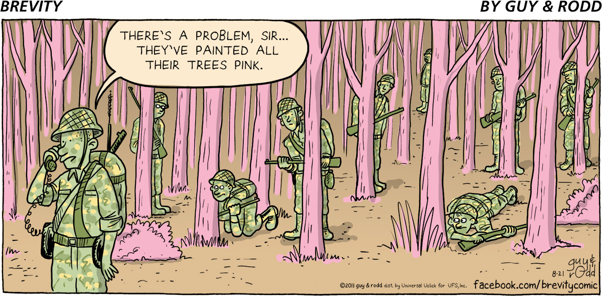 Brevity Comic Strip for August 21, 2011