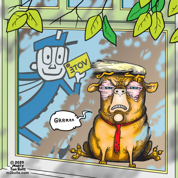 M2Bulls Comic Strip for August 20, 2020