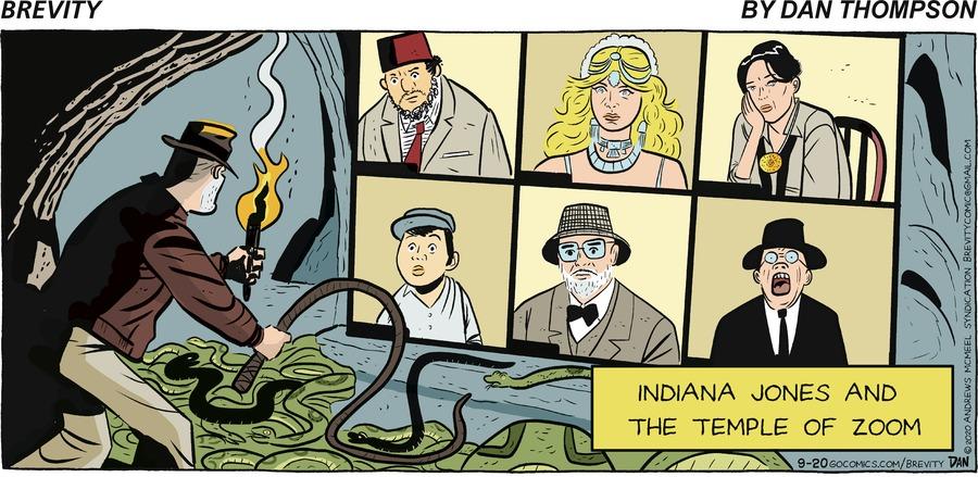 Brevity Comic Strip for September 20, 2020