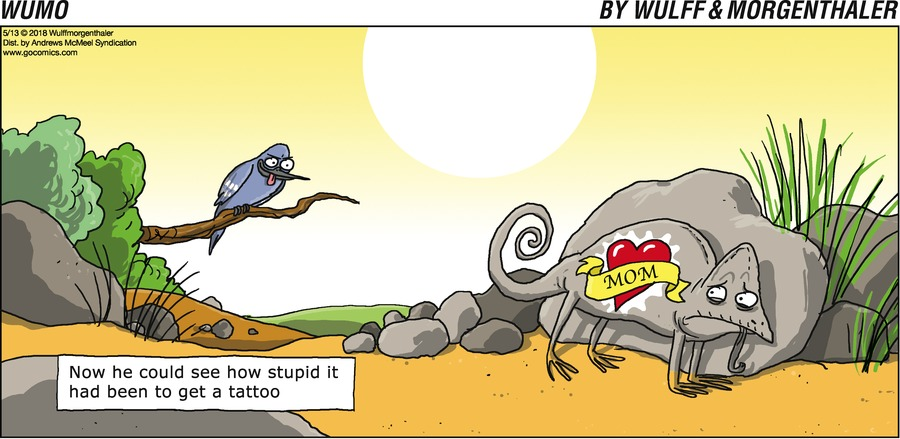 WuMo for May 13, 2018 Comic Strip