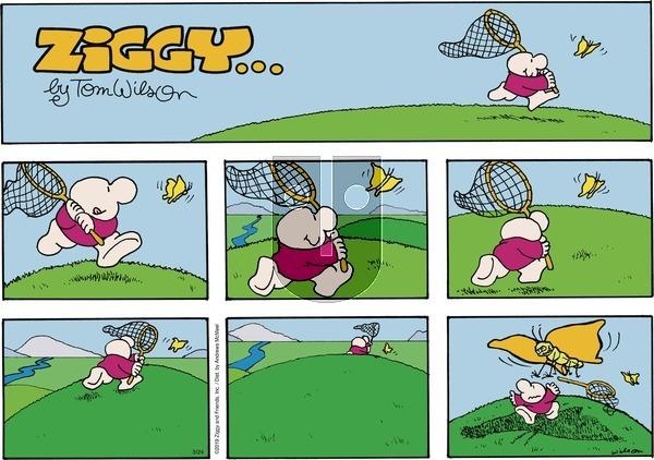 Ziggy on Sunday March 24, 2019 Comic Strip