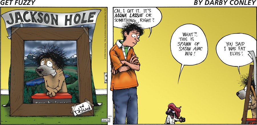 Get Fuzzy Comic Strip for February 24, 2019