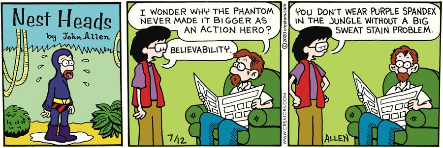 Nest Heads Comic Strip for July 12, 2020