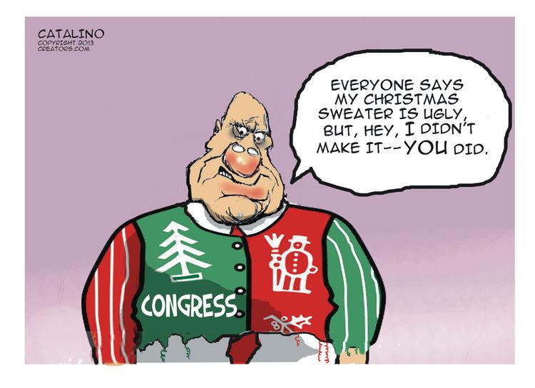 Ken Catalino for Dec 13, 2013 Comic Strip