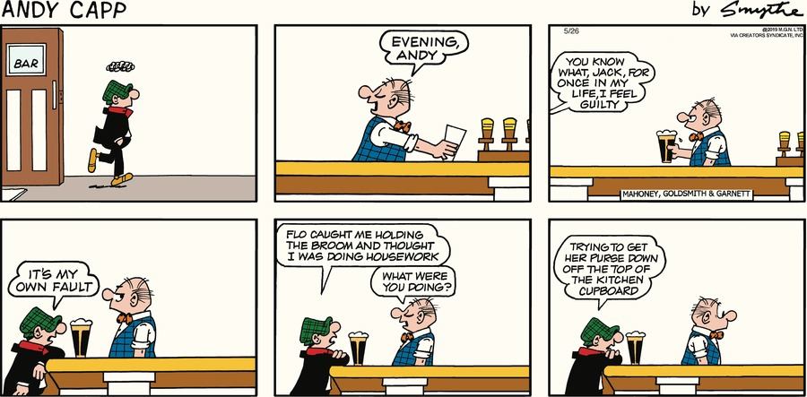 Andy Capp by Reg Smythe for May 26, 2019
