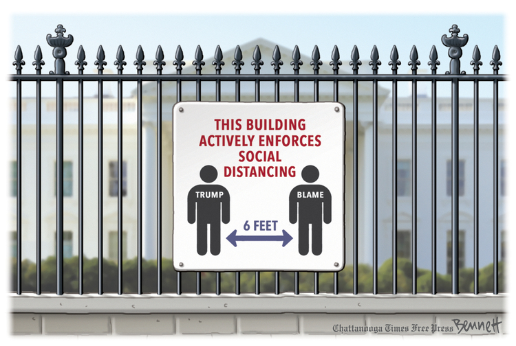 Clay Bennett Comic Strip for May 27, 2020