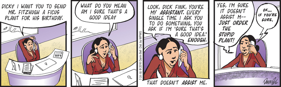 Candorville Comic Strip for July 31, 2018